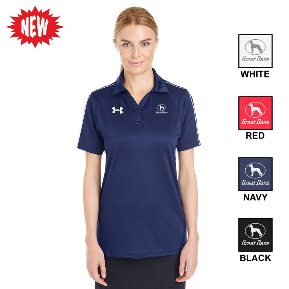 UNDER ARMOUR TECH POLO, LADIES'
