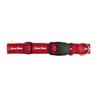 DOG COLLAR, RED