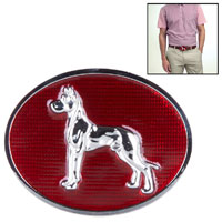 GREAT DANE BELT BUCKLE